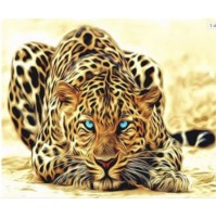 Diamond Painting  Leopardo 30X40cm