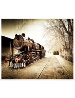 Diamond Painting treno express 30X40cm