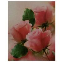 Diamond Painting  3 rose 20x20 cm