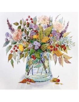 Diamond Painting  vaso fiori 25x35 totale