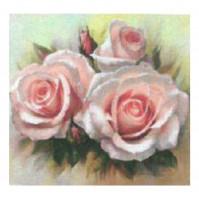 Diamond Painting fiori rose 20x20 cm