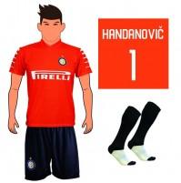 Completo Maglia Handanovic Fc Inter 2018 replica ufficiale Autorizzata