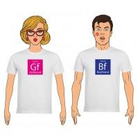 Completo T-Shirt lui e lei San Valentino