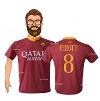 Maglia As Roma Perotti 8 2018/2019 replica ufficiale Autorizzata