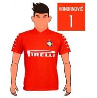 Maglia Handanovic Fc Inter 2018 replica ufficiale Autorizzata