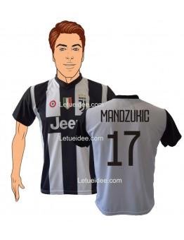 Maglia Mandzukic 17  Juventus 2018-19 replica ufficiale Autorizzata
