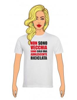 T-Shirt Donna Buon Compleanno per i tuoi 60 anni